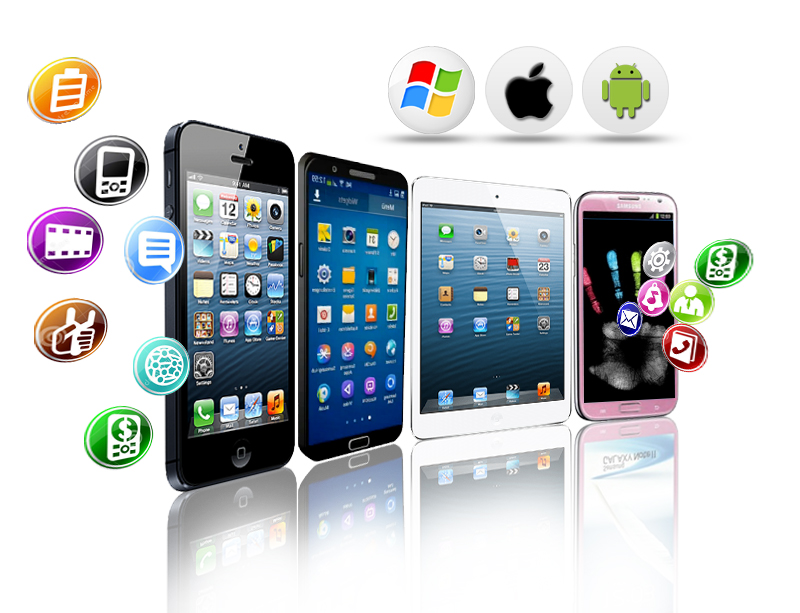 What are the services provided by the mobile app companies?