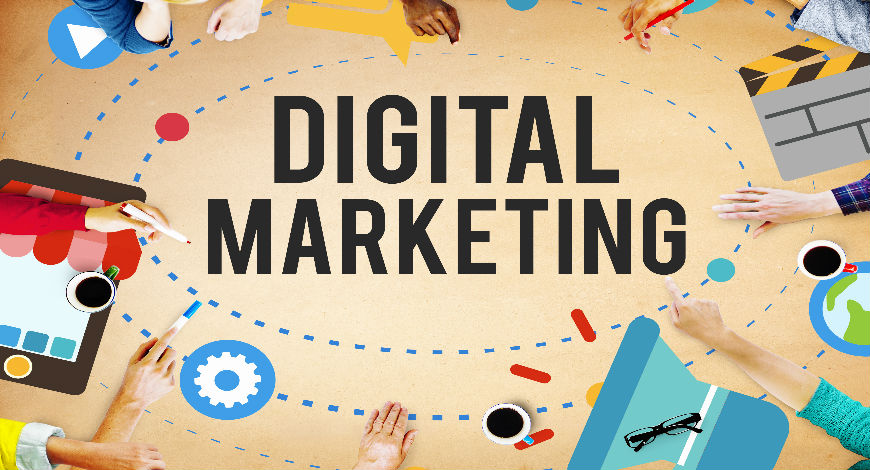 What are the important services in Digital marketing?