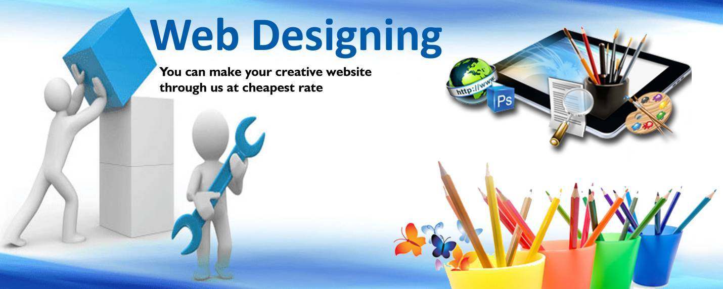 What a web designer do to your website?