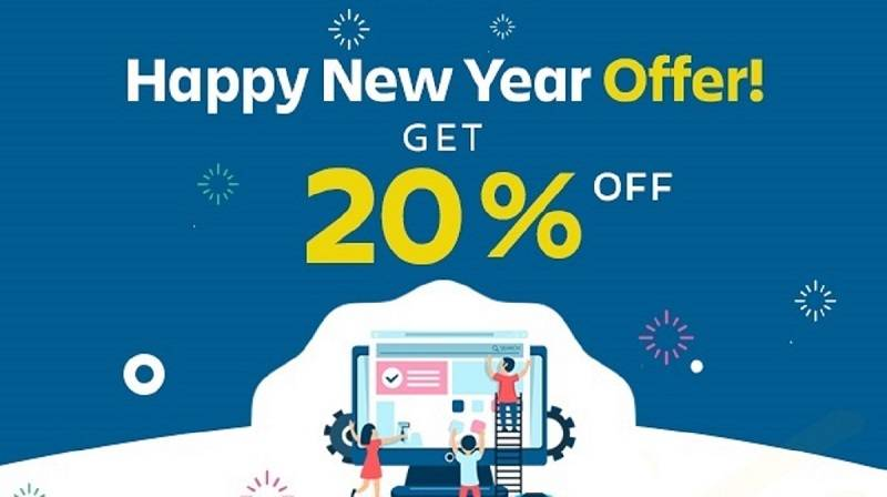 Web design and development offer – Happy New Year Offer