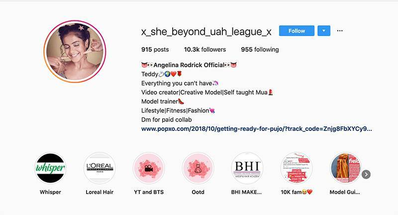 Keywords-in-username-for-Instagram-SEO