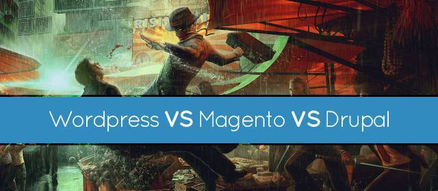 WordPress vs. Drupal vs. Magento for E-commerce Website Development