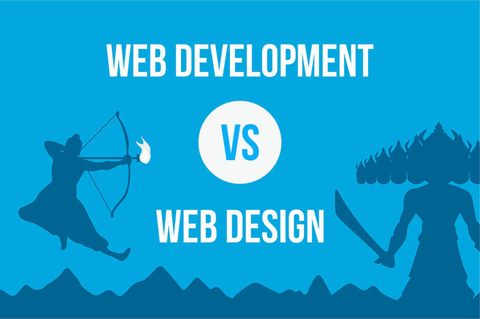 How is website designing different from web development?