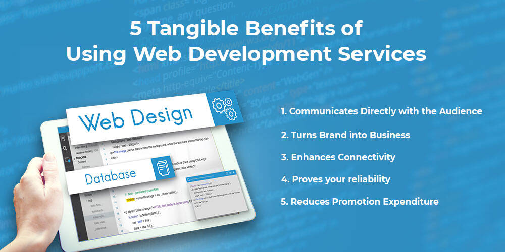 5 Tangible Benefits of Using Website Development Services